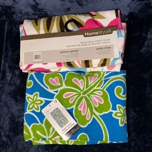 Other - NWT - 2 for $10! BEACH TOWELS
